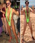 La chica Borat
